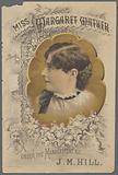 """Brochure, """"Miss Margaret Mather under the management of JM Hill"""""""