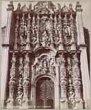 Front of the Cathedral of San Francisco