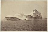 Instantaneous view of icebergs