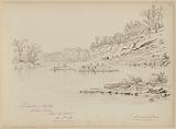 Limestone Rocks, Ohio River