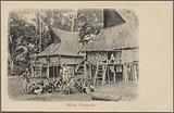 Malay campong [village]