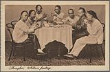Shanghai, natives feasting