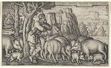 The Prodigal Son Reduced to a Swineherd