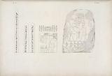 Figg, 1, 2 e 4, Iscrizioni e stela istorica del re Osortasen I della dinastia sestadecima, Fig