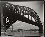 Hell Gate Bridge, inverted, Astoria, Queens