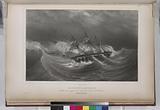 La corvette l' Astrolabe, Tombant tout-à-coup sur des récifs dance baie de l' Abondance, (Nouvelle -Zélande.)