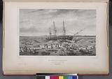 La corvette l' Astrolabe, En perdition sur des recifs, (Tonga-Tabou.)