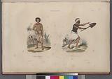 Tonga-Tabou, Costumes des habitans, Costume de guerre