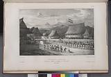 Réception a tondano, Du gouverneur merkus et des officiers de l' Astrolabe, (Ile Célébes.)