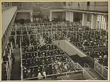 The pens at Ellis Island, Registry Room (or Great Hall), These people have passed the first mental inspection
