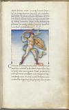 Miniature of Arctophylax, with text and 1-line blue initial