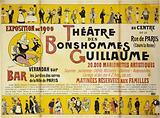 Exhibition of 1900. Theâtre des Bonshommes. Guillaume at the Center of the Rue de Paris. (Run the Queen).