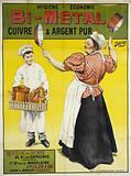 Hygiene-Economy. BI-Metal. Copper & Pure Silver. House of Sale. 30. BD des Capucines. Administration.