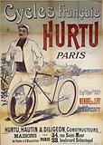 French cycles. Hurt. Paris. Expon Univlle 1889. Member of the Jury. Standout. Hurtu, Hautin & Diligeon, Builders.