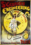 The St George's Engineering CO. New Rapid Cycles. Pope Street. Birmingham. 68 Avenue de la Grande Armee Paris.