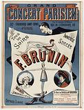 Grand Parisian Concert. 37. Faubourg Saint. Denis. Paris. For Rental & Cars: Rue de l'echiquier. 10. Huge. Success.