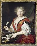 Portrait of a writing woman, formerly identified as Mme de Sévigné