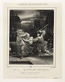 Album Contes de La Fontaine: the cuckold beaten and content