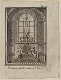 Saint-Nicolas du Chardonnet Church. Tomb of Charles Le Brun.