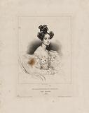 Actresses of the main Theaters of Paris: portrait of Mademoiselle Alexandrine Noblet, dramatic artist