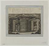 Entrances to the Crypt of the Sepulchral Lamp and the Crypt of the Lachrymatory Sarcophagus, to the Catacombs, 1816