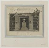 Crypt of the Sepulchral Lamp, in the Catacombs, 1816