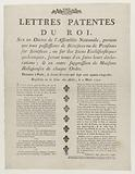 Letters Patent of the King
