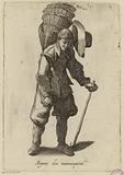 Les cries de Paris: the wicker basket merchant