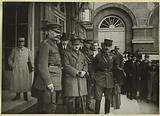 Allied Conference: Lord Kitchener Baron de Broqueville and G [ener] al Roques