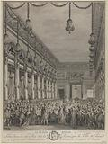 The Royal Feast. Feasts given to the King and the Queen by the City of Paris on 21 January 1782 on the occasion of the …