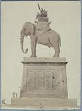 Elephant fountain project, place de la Bastille, view to the left