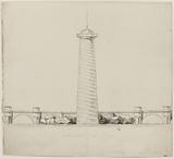 Monument project presumed to be for the Pont-Neuf