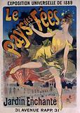 Universal Exhibition of 1889. The. Land of the Fairies. Enchanted Garden. 31, Avenue Rapp, 31.