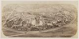 Parc des Buttes-Chaumont project, 19th arrondissement, reproduction of a drawing