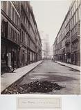 Rue Mogador, view taken from rue Saint-Nicolas, 9th arrondissement, Paris