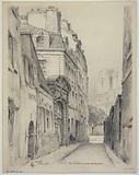 The rue Saint-Julien-le-Pauvre, 1926