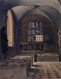 The Musée des Monuments Français aux Petits-Augustins, the 13th century sculpture room