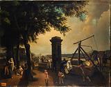 The Cours-la-Reine merchant pump