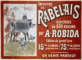 Works of Rabelais. Illustrated with 600 Drawings by A Robida. Luxury edition. 15 cent.