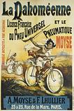 The Dahomean and the Pneumatic. Moyse. French Universal Tire License. A Moyse & F Lhullier.