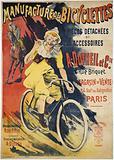 Manufacture of Bicycles. Spare Parts and. Accessories. At Dutheil et Cie. 2 Rue Briquet.