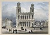 Facade of Saint-Sulpice