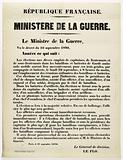 French Republic. Ministry of War.