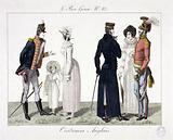 Le Bon Genre N°83. English costumes.