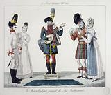 Le Bon Genre, N°86. The Troubadour playing Six Instruments.