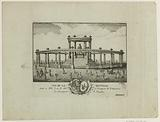 View of the rotunda made in Lille on 20 November 1781 on the occasion of the birth of Monsignor the Dauphin