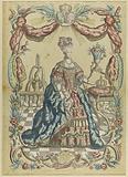Portrait of Marie Antoinette, Queen of France