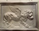 Lion of Saint Mark, detail of the pulpit, Saint-Sulpice church, 6th arrondissement, Paris