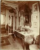 """Parisian interiors,""""Interior of Mademoiselle Cécile Sorel, member of the Comédie-Française, 99 avenue des …"""""""