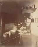 """Parisian interiors,""""Interior, rue Montaigne, the kitchen"""", 6th arrondissement, Paris"""